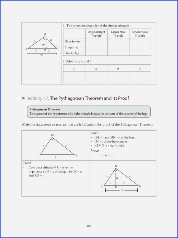 Proving Triangles Similar Worksheet Elegant Proving Triangles Similar Worksheet