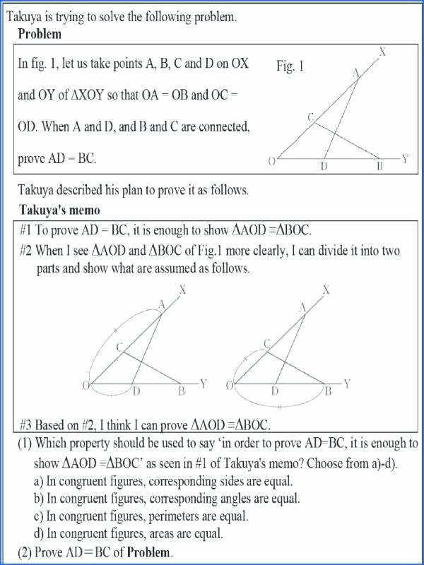 Proving Triangles Similar Worksheet Fresh 20 Best Proving Triangles Congruent Worksheet Answers