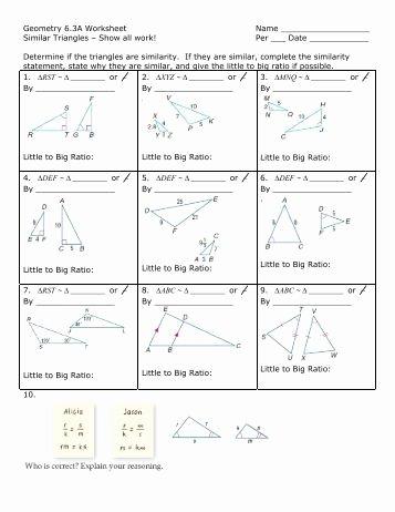 Proving Triangles Similar Worksheet Inspirational Printables Proving Triangles Similar Worksheet