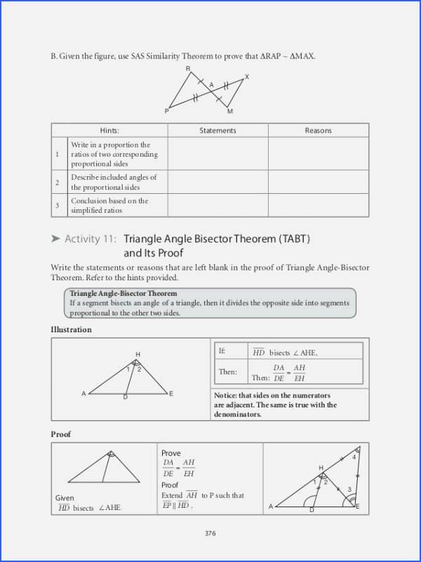 Proving Triangles Similar Worksheet Lovely Proving Triangles Similar Worksheet