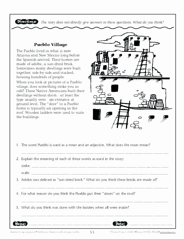 Prufrock Analysis Worksheet Answers Awesome Reading Prehension Worksheets for Grade 3 Geo