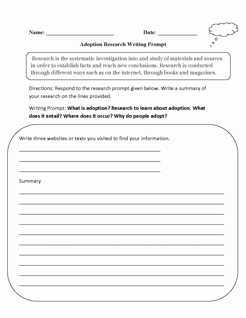 Prufrock Analysis Worksheet Answers Luxury Writing Prompt Worksheets Math for Kindergarten Free Pdf