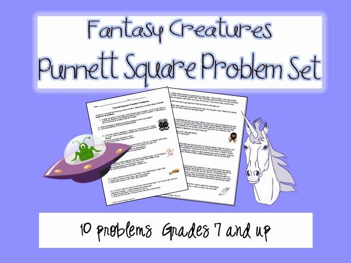 Punnett Square Practice Problems Worksheet Beautiful Genetics Punnett Square Practice Worksheet Fantasy