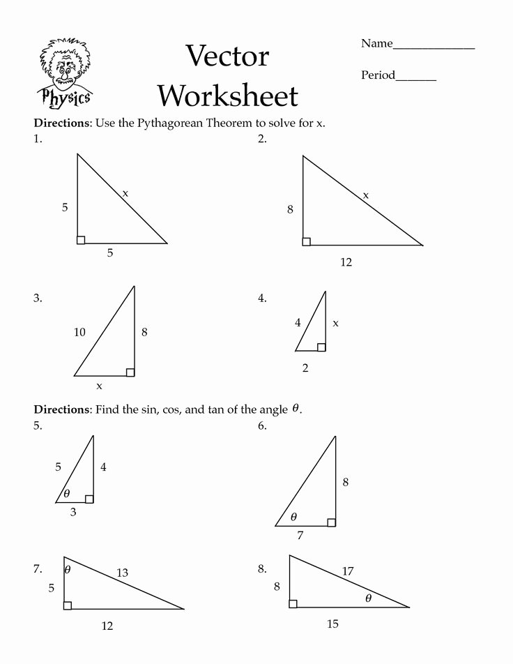 Pythagoras theorem Worksheet with Answers Awesome Pythagorean theorem Worksheets