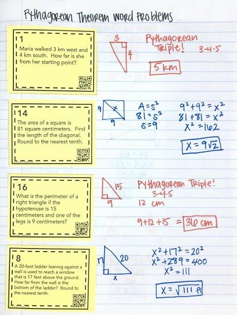 Pythagorean theorem Word Problems Worksheet Beautiful Pythagorean theorem Inb Pages