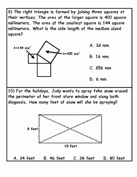 Pythagorean theorem Word Problems Worksheet Lovely Applications Of the Pythagorean theorem Word Problems by