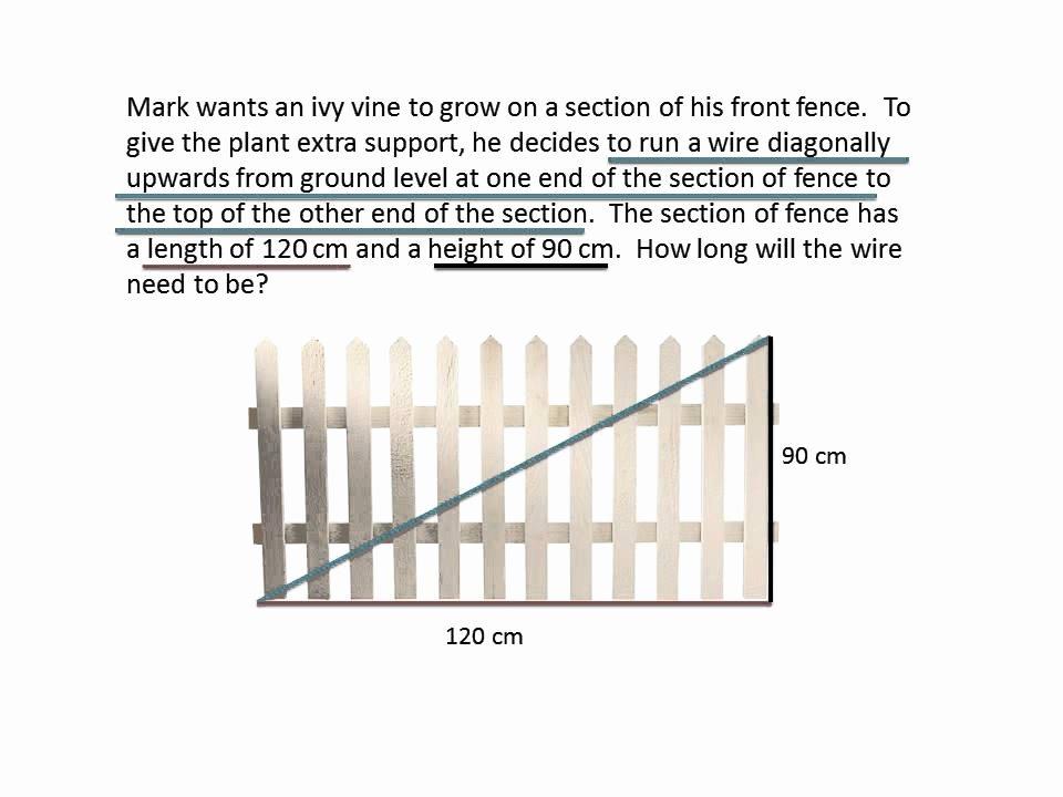 Pythagorean theorem Word Problems Worksheet New Pythagorean theorem Word Problems