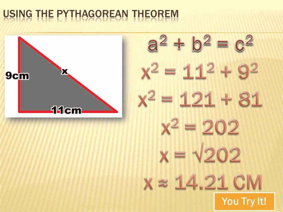 Pythagorean theorem Worksheet 8th Grade Awesome Geometry Using the Pythagorean theorem 8th Grade Math