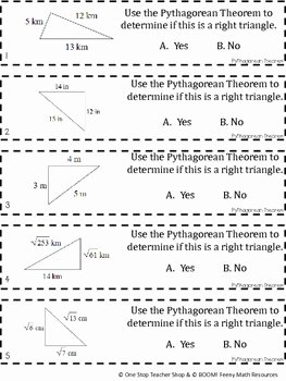 Pythagorean theorem Worksheet 8th Grade Best Of 8th Grade Pythagorean theorem Game Free