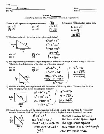 Pythagorean theorem Worksheet Answer Key Inspirational Regents Review Worksheet Statistics Vocab 1 Answers Pdf