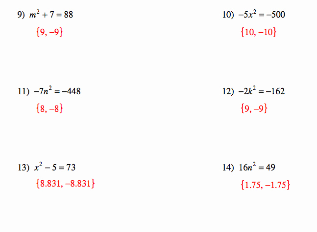 Quadratic Equation Worksheet with Answers Fresh Pangarau Quadratic Equations and Answers for Worksheets