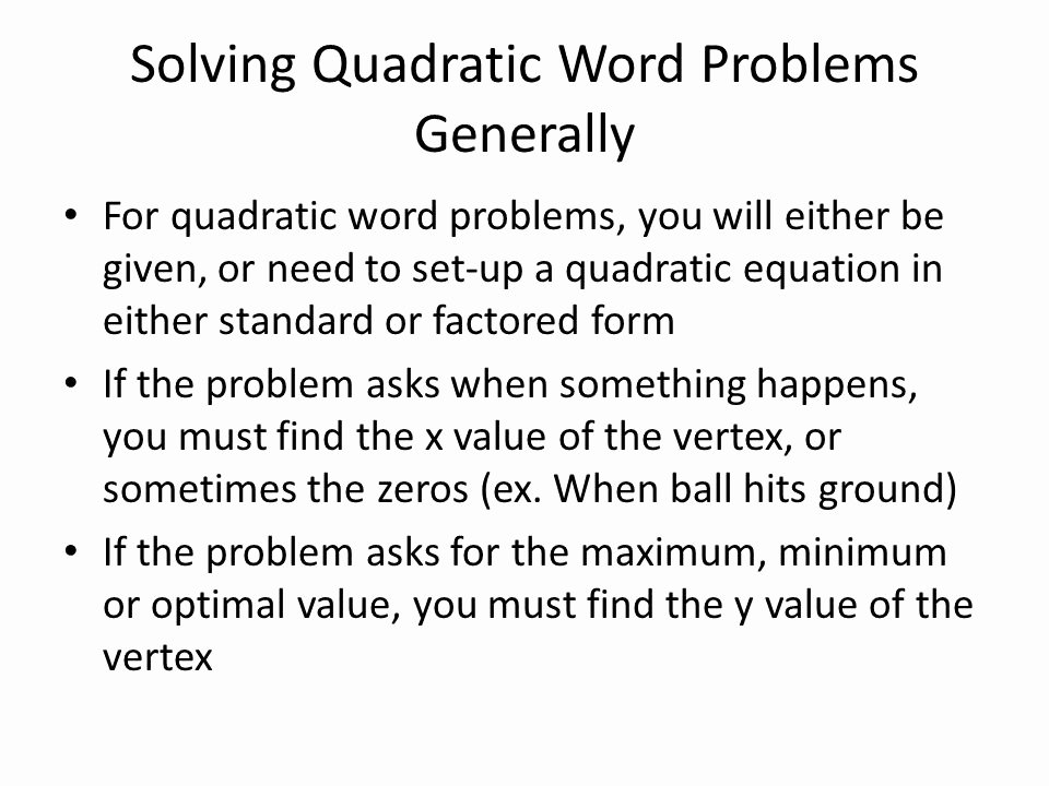 Quadratic Equations Word Problems Worksheet Lovely Linear and Quadratic Word Problems Worksheet Breadandhearth