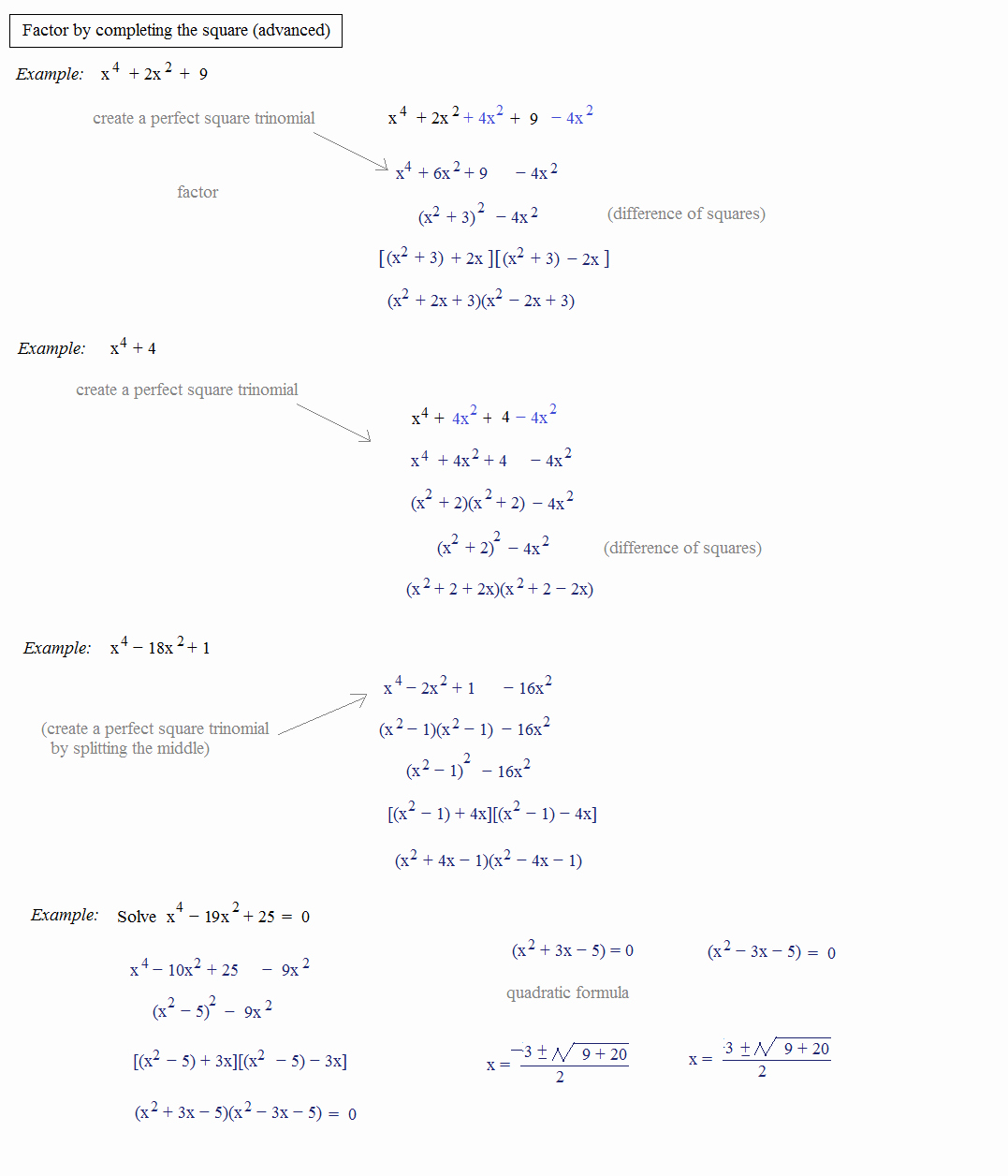 Quadratic formula Worksheet with Answers Lovely Math Plane Pleting the Square & Quadratic formula