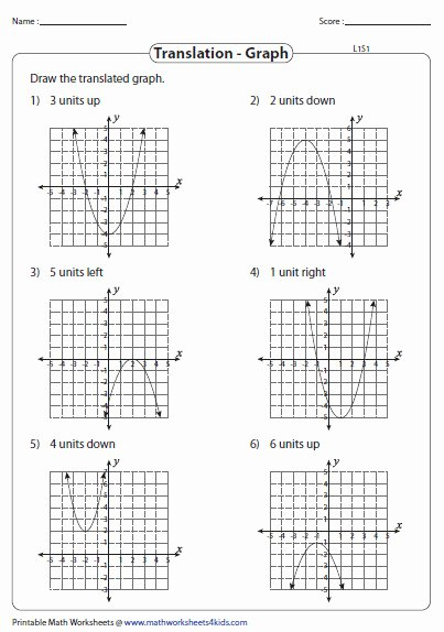 Quadratic Functions Worksheet with Answers New Graphing Quadratic Functions Worksheet