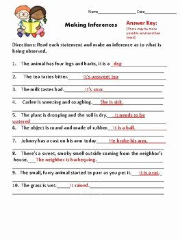 Qualitative Vs Quantitative Worksheet Awesome Qualitative Quantitative and Inferences Worksheets by