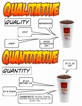 Qualitative Vs Quantitative Worksheet Fresh Qualitative Vs Quantitative by Jennifer Ruppert