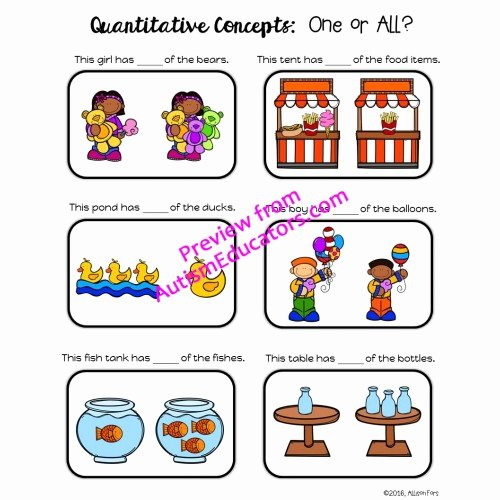 Qualitative Vs Quantitative Worksheet Unique [no Prep] Quantitative Concepts Worksheets
