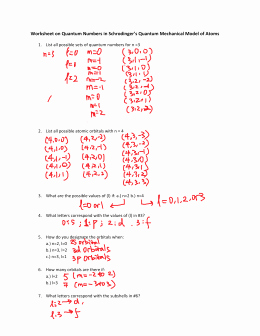 Quantum Numbers Practice Worksheet New Studylib Essys Homework Help Flashcards Research