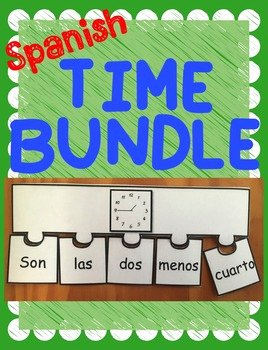 Que Hora Es Worksheet Elegant Spanish Telling Time Worksheet Powerpoint & Puzzle