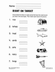 R Controlled Vowels Worksheet Awesome 14 Best Of Super Teacher Worksheets R Controlled
