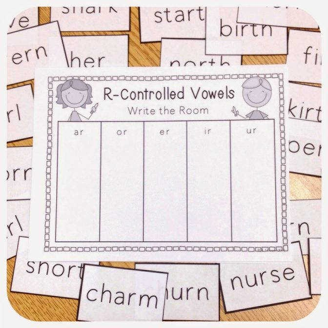 R Controlled Vowels Worksheet Awesome R Controlled Vowels Worksheets