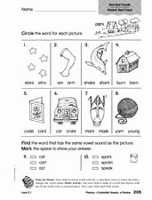 R Controlled Vowels Worksheet Beautiful Phonics R Controlled Vowels Review 1st 2nd Grade