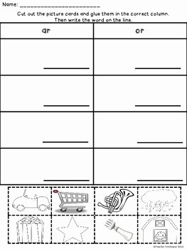 R Controlled Vowels Worksheet Beautiful R Controlled Vowels Bossy R Worksheets and Activities