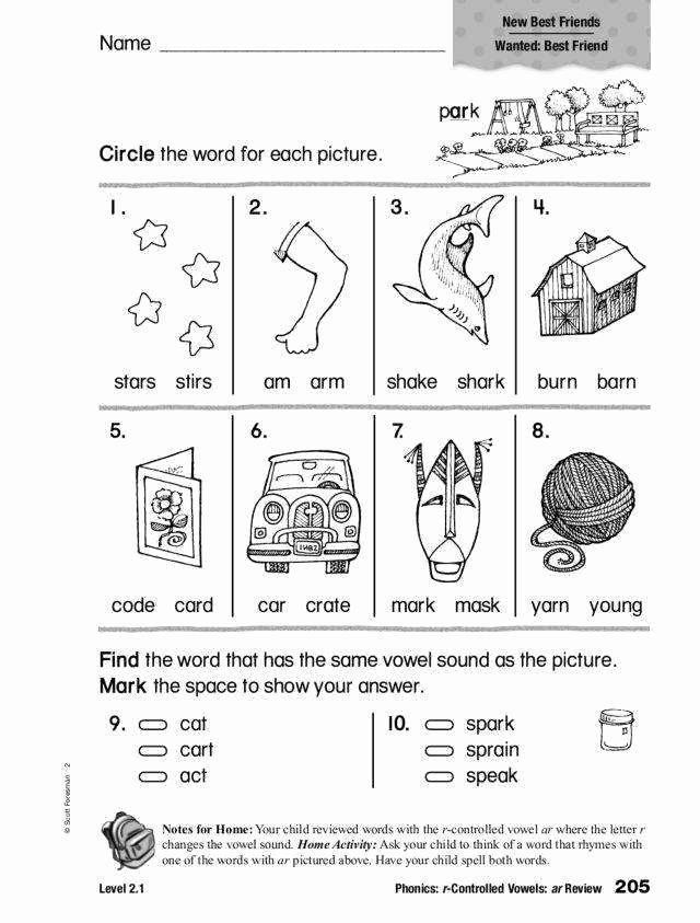 R Controlled Vowels Worksheet Fresh R Controlled Vowels Worksheets