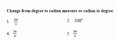 Radians to Degrees Worksheet Luxury Cumulative Review Worksheet Answers On Graphing Trig