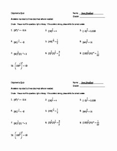 Radical and Rational Exponents Worksheet Elegant 12 Best Of Rational Exponents Worksheets with