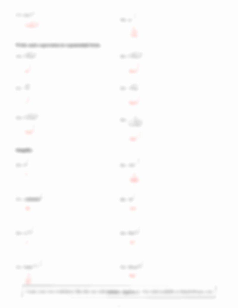 Radical and Rational Exponents Worksheet Inspirational Radicals and Rational Exponents Worksheet Kuta software