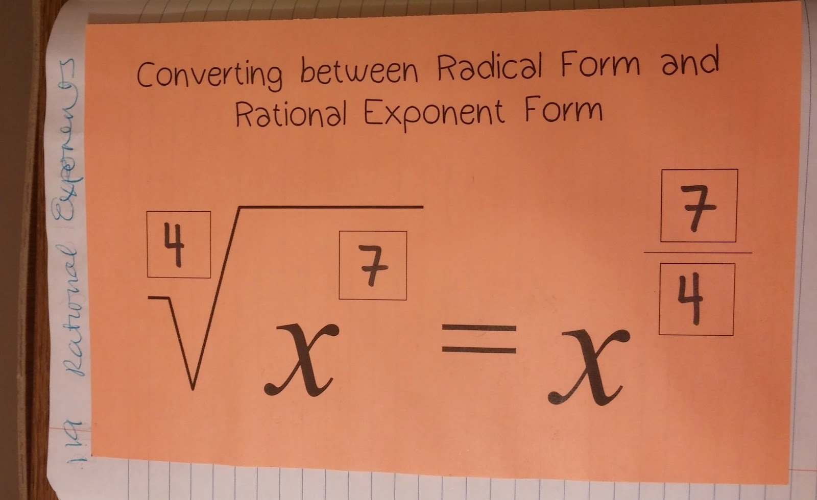 Radicals and Rational Exponents Worksheet New Beautiful Math Algebra E Unit 7 Properties Of Exponents