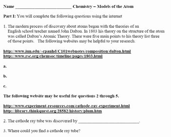 Radioactive Decay Worksheet Answers Elegant Radioactive Decay Webquest Worksheet Answers