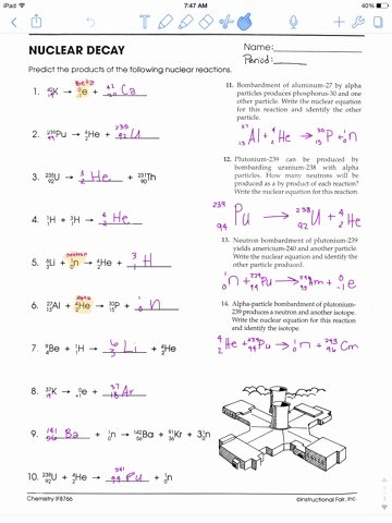 Radioactive Decay Worksheet Answers Fresh Jolie Heywood October 2015