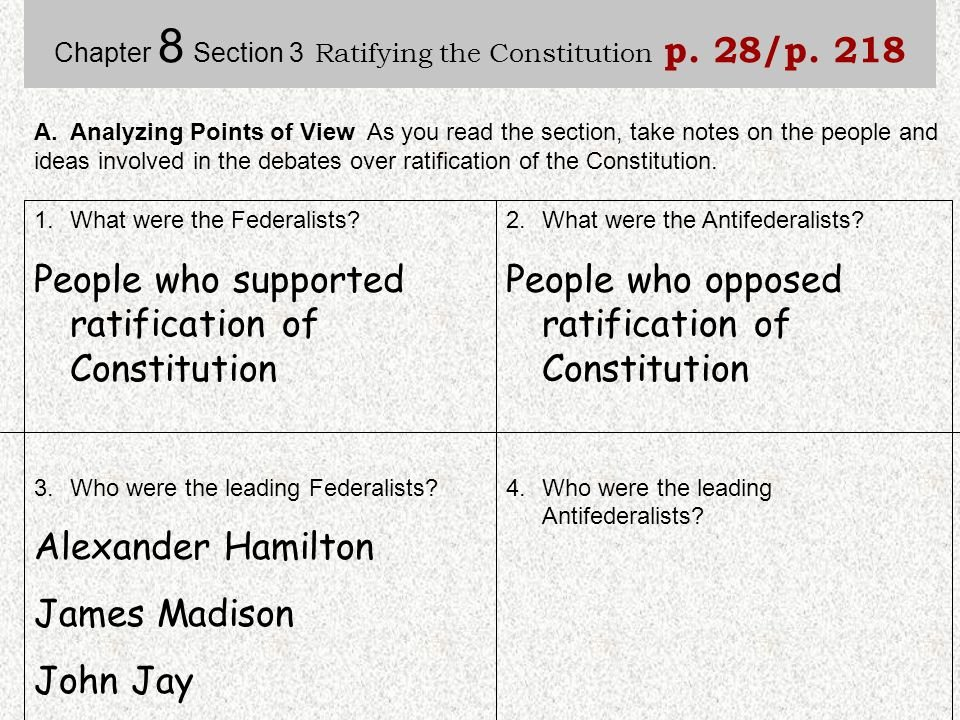 Ratifying the Constitution Worksheet Answers Elegant Ratifying the Constitution Worksheet Answers