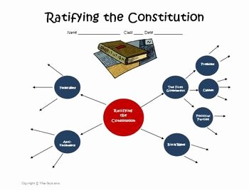 Ratifying the Constitution Worksheet Answers New Constitution Creation and Ratification Web Worksheet