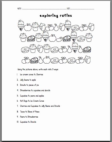Ratio and Proportion Worksheet Pdf Luxury 25 Best Ideas About Ratios and Proportions On Pinterest