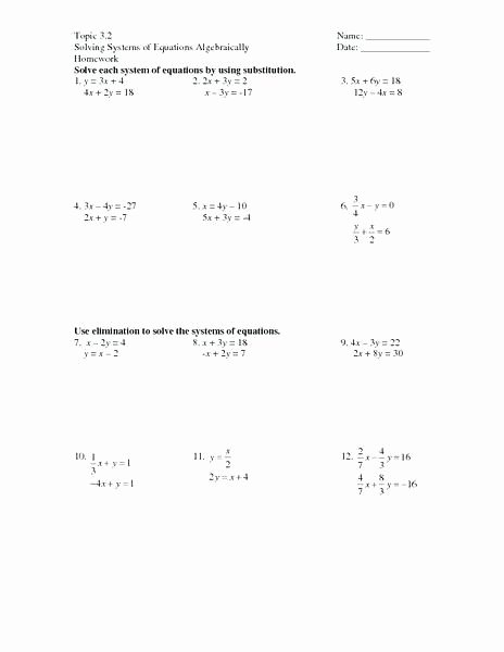 Rational Equations Word Problems Worksheet Fresh 22 Algebra 2 Problems and Answers