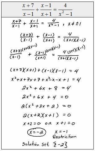 Rational Equations Word Problems Worksheet Luxury solving Rational Equations Worksheet