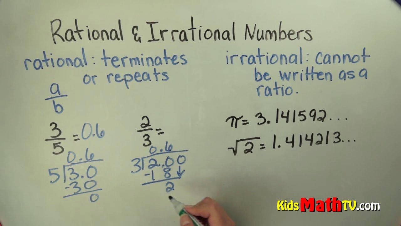 Rational or Irrational Worksheet Awesome Differentiating Between Rational and Irrational Numbers
