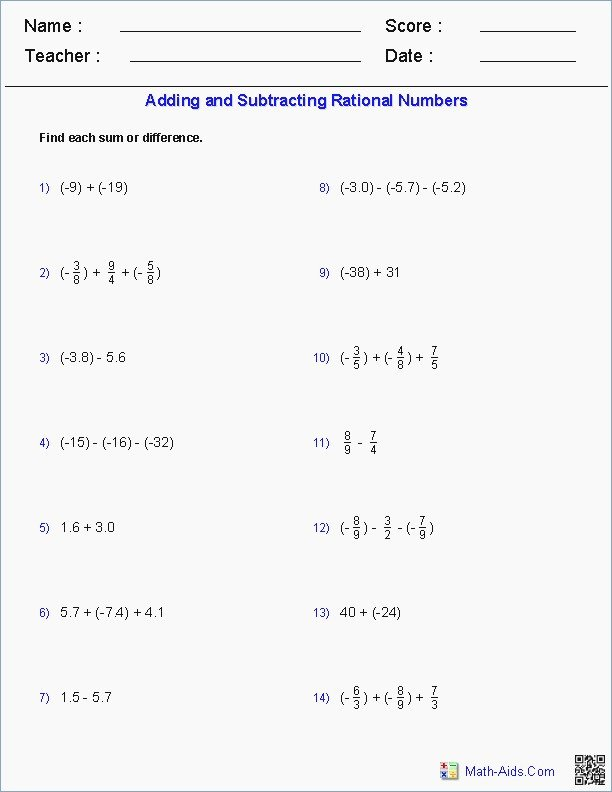 Rational or Irrational Worksheet Inspirational Rational and Irrational Numbers Independent Practice