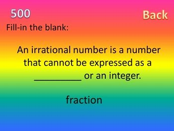 Rational Vs Irrational Numbers Worksheet Awesome Rational and Irrational Numbers Activity by Idea Galaxy