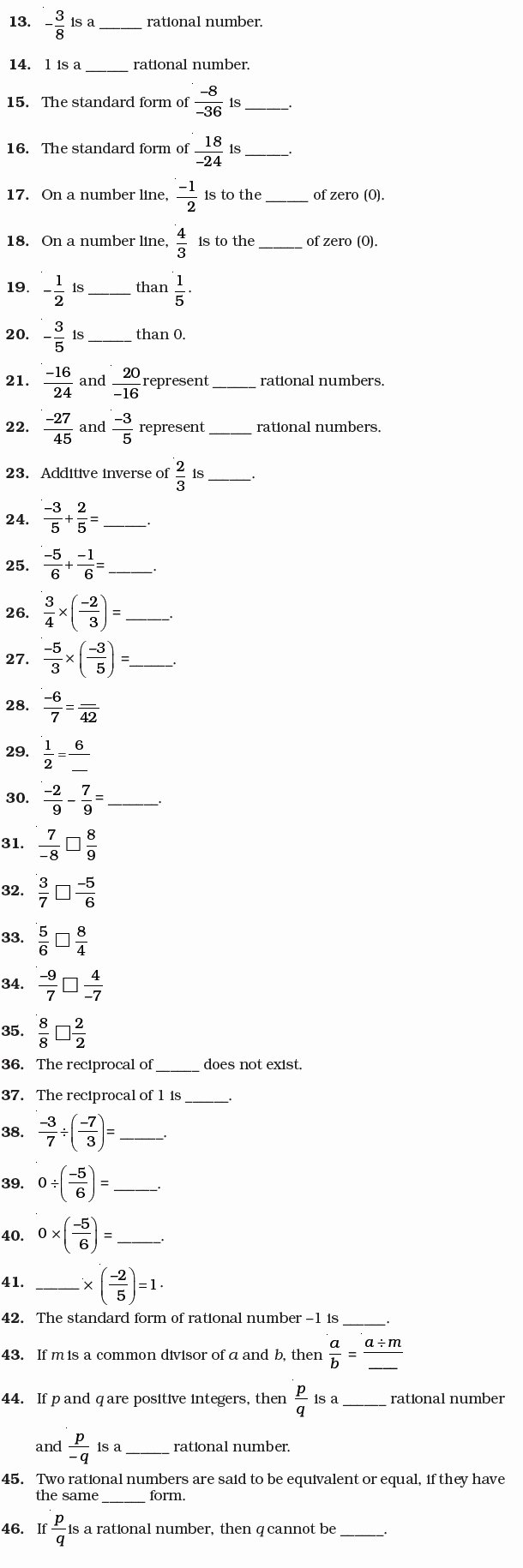 Rational Vs Irrational Numbers Worksheet New Rational Numbers Worksheet Grade 7 Pdf