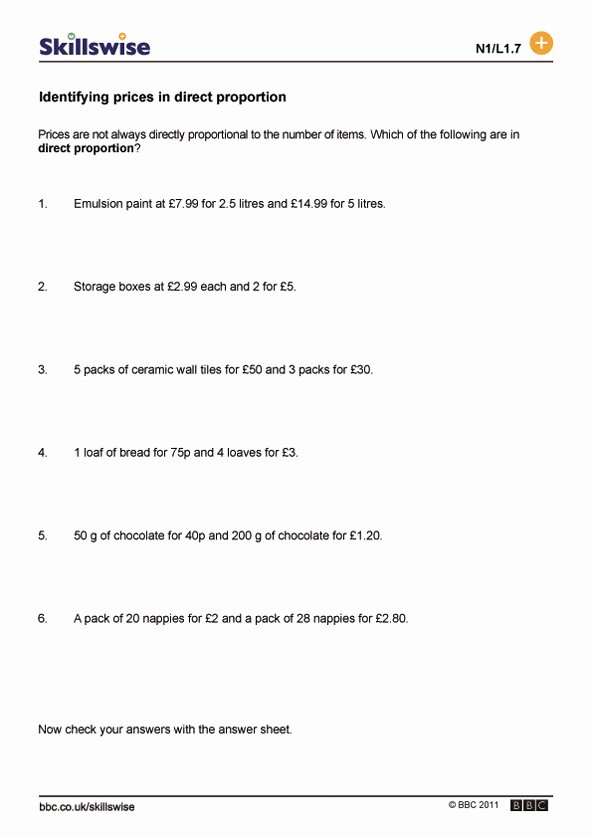 Ratios and Proportions Worksheet Beautiful Ratio Proportion and Percent Problem solving with Percent