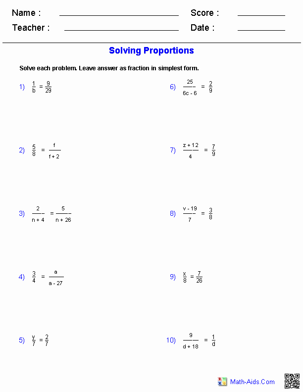 Ratios and Proportions Worksheet Fresh Geometry Worksheets