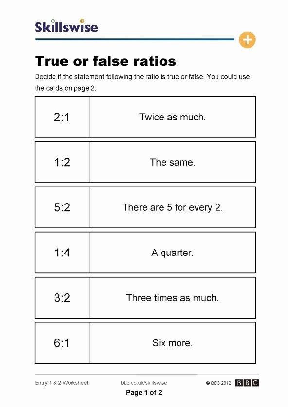 Ratios and Proportions Worksheet Inspirational Proportal Bmet Keywordsfind