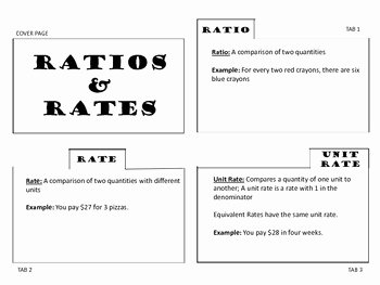 Ratios and Rates Worksheet Unique Ratio and Unit Rates Worksheet the Best Worksheets Image