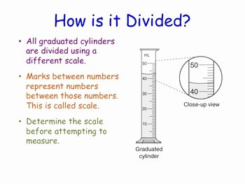 Reading A Graduated Cylinder Worksheet Best Of Reading A Graduated Cylinder Lesson Presentation by