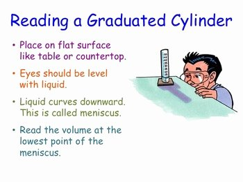Reading A Graduated Cylinder Worksheet Inspirational Reading A Graduated Cylinder Lesson Presentation by