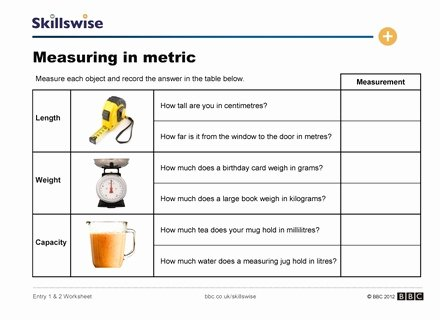 Reading A Metric Ruler Worksheet Elegant Metric Measurement Conversion Worksheet Answers Metric